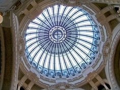 artnouveauba culturainquieta14 Leaded Glass, Stained Glass, Roof Dome, Art Nouveau, Dome Ceiling, Bridal Wedding Dresses, Glass Domes, Beach Mat, Outdoor Blanket