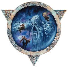 Milivoj Ćeran - Odin, Vili and Ve kill Ymir