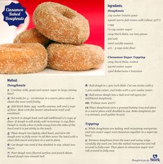 Celebrate National Doughnut Day with these tasty treats! Donut Recipes, Cake Recipes, Dessert Recipes, Cooking Recipes, Kos, Stork Recipes, Delicious Desserts, Yummy Food, Best Sugar Cookie Recipe