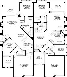 - 24068BG | 1st Floor Master Suite, CAD Available, Craftsman, Den-Office-Library-Study, PDF | Architectural Designs Family House Plans, Dream House Plans, Small House Plans, Duplex Floor Plans, House Floor Plans, Duplex Design, House Design, The Plan, How To Plan