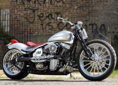James Dean inspired Harley Fatboy