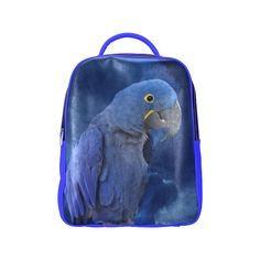 Hyacinth Macaw Popular Backpack. FREE Shipping. FREE Returns. #lbackpacks #parrots