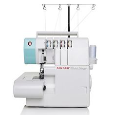 Singer® Stylist 4-3-2 Thread Serger with Shirring Foot at HSN.com.