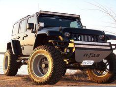 Modified Jeep Wrangler JK
