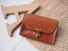 20% OFF SALE Personalized Wallet / Purse  Leather  por HarLex