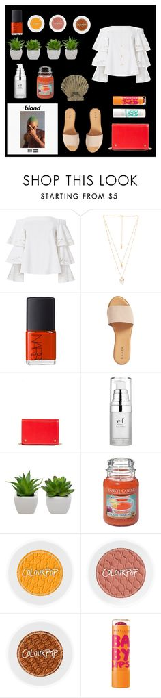 """""""Solo- Frank Ocean"""" by theyasminemeshel ❤ liked on Polyvore featuring Paul Frank, Exclusive for Intermix, Natalie B, NARS Cosmetics, Hinge, Nordstrom, Maybelline, e.l.f., Yankee Candle and Benson Mills"""