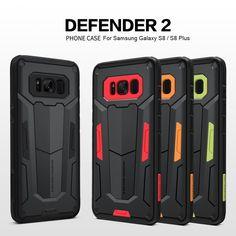 Samsung Galaxy S7 S8 S7 Edge S8 Plus Case Nillkin Defender 2 Ultra Slim Armor Phone Cover  #UniversalSwagCom