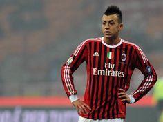 Stephan El Shaarawy con el AC Milan