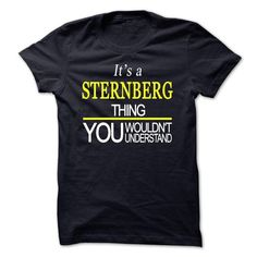 nice Its a STERNBERG thing, you wouldnt understand