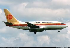 Continental Airlines N408PE Boeing 737-130 aircraft picture