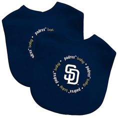 San Diego Padres 2 Pack Baby Bib by Baby Fanatic