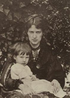 Pre Raphaelite Art: Julia Margaret Cameron - Marie Spartali Stillman and her son