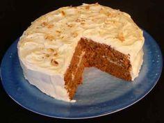 CARROT CAKE /eggless Recipe