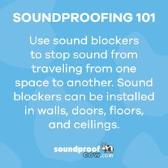 Sound Hack! The best way to bring a room together, is to block the appropriate walls, doors, floors and ceilings. Does your space need it everywhere? Anywhere? Let us help! #soundproofing #soundproofcow #chambersburgpa