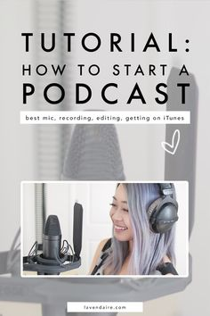 Podcast tips How to start a podcast podcasting podcast tutorial record a podcast get on iTunes content creator advice podcast recording equipment audio editing successful podcasting Business Tips, Online Business, Business Meme, Business Video, Business Branding, Business Quotes, Beste Podcasts, Cover Art, Podcast Topics