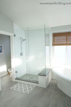 Your master bathroom should look as good as you want it to! This remodel is great inspiration. | Jon-E-VAC | (888) 942-3935 | www.jonevac.com