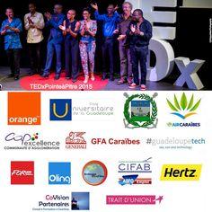 Les 8 talks de TEDxPointeàPitre sont en ligne : http://www.tedxpointeapitre.com/video/ Merci aux intervenants et aux partenaires pour leur confiance.
