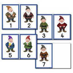Number Line - The Seven Dwarfs