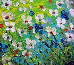 Detail Image for art DANCING FLOWERS