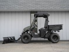 It's the middle of June, and we're still selling Landmasters equipped with snow plows. Lots of them, in fact. This green LM400 with the 52-inch blade is just about ready for delivery. http://www.powerequipmentsolutions.com/products-a-services/online-store/utvs-and-atvs-new-a-used/american-sportworks.html  #AmericanSportWorks #Landmaster #LM400 #sidebyside #UTV #snowplow #americanmade #madeinUSA #PES #Vandalia