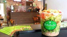 O negócio de saladas que começou com R$ 200