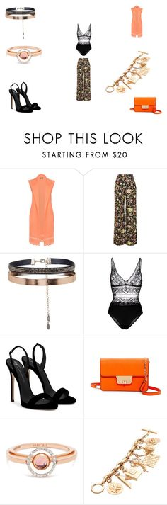 """""""Untitled #1330"""" by panicsam ❤ liked on Polyvore featuring WearAll, Love, Accessorize, STELLA McCARTNEY, Giuseppe Zanotti, Milly, Marie Mas and Chanel"""