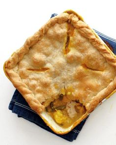 Curried Chicken Potpie Recipe