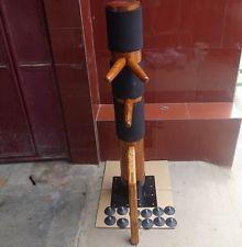 WingChun Mind Mook Jong wooden dummy,Muk Yan Jong made of Solild Elm  wcm001