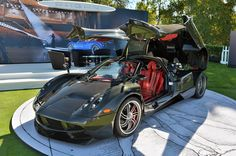 Monterey: Pagani debuts first US-spec Huayra at the Quail