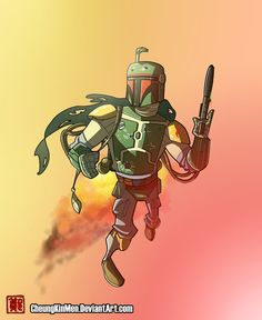 Boba Fett - Intergalactic Bounty Hunter