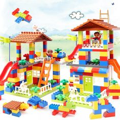 100% Quality 3 Size Diy Construction Marble Toys Gifts For Children Baby Kids Race Run Maze Balls Track Building Blocks Early Educational Crease-Resistance Model Building