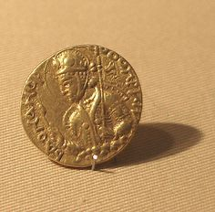 Date: 150–180 Culture: Pakistan (ancient region of Gandhara) Medium: Gold. The Great Kushan rulers minted these gold coins in the second and early third centuries. They follow a Roman weight standard, and the rulers present themselves in relation to a range of Near Eastern and South Asian deities, such as the Shiva on the reverse of Vasudeva's coin.