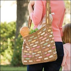 Ravelry: Scraptastic Market Bag pattern by Mary Beth Temple