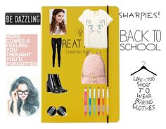 """Back to school"" by onlinegirl-diii on Polyvore featuring Happy Jackson, REGALROSE, Paige Denim, MICHAEL Michael Kors and Yves Saint Laurent"