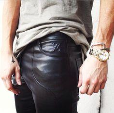 Louis Vuitton Leather Pant