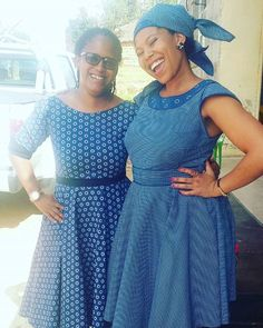 Fabulous Short Shweshwe Designs - isishweshwe Shweshwe Dresses, Suits You, Short Outfits, Traditional Dresses, African Fashion, Women Wear, Legs, How To Wear, Design