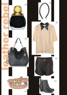 #12 || SS || leather rebel ‹ Blogging Fashion
