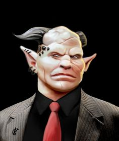 Shadowrun Troll Boss by Relentless666.deviantart.com on @DeviantArt