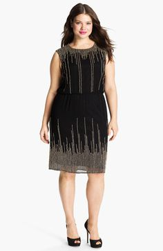 shop 1920s plus size dresses and costumes | mesh dress, nordstrom