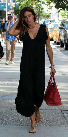 Kelly Bensimon - Kelly Bensimon Runs Errands in NYC
