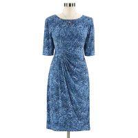 Misses Flattering Faux Wrap Dress