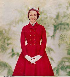 Seventeen Editorial 1956  shot by Francesco Scavullo