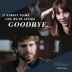 """S7 Ep18 """"Choose or Lose"""" - Please don't say goodbye again, #Spoby. #PrettyLittleLiars"""