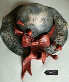 Felt Flower Pillow, Ceramic Clay, Felt Flowers, Clay Art, Picture Wall, Rock Art, Decoupage, Diy And Crafts, Sculptures