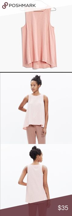 MADEWELL Forward-seam Slub Tank XS NWT SOLD OUT!!! Brand new XS.. Sold out online Madewell Tops Tank Tops