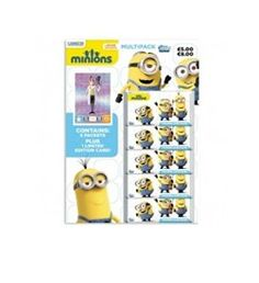 MULTIPACK (Includes Limited Edition Card) ~ MINIONS MOVIE / FILM TOPPS TRADING CARD COLLECTION ~ #minionsfilm