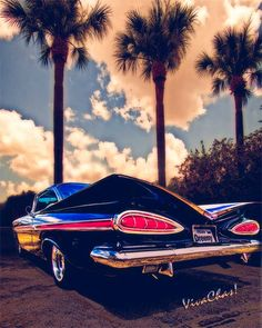 Dreemy 59 Impala Hardtop is hard to beat for extreme Fifties Modern Design ~:0) VivaChas!