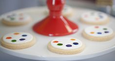 Pantone Art Party for Kids Dessert Table Cookies