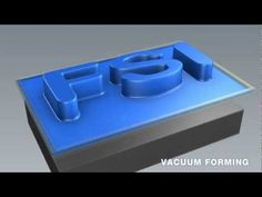 ▶ Thermoforming: Compressing Molding, Vacuum Forming, Pressure Forming Animation - YouTube