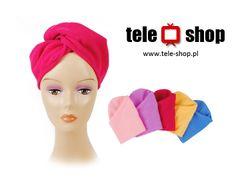 http://tele-shop.pl/  RĘCZNIK TURBAN DO SUSZENIA WŁOSÓW. Idealny na basen, saunę, solarium czy do ochrony włosów przy zabiegach kosmetycznych.
